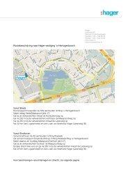 Routebeschrijving naar Hager-vestiging 's-Hertogenbosch