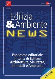 Panorama editoriale in tema di Edilizia, Architettura, Sicurezza ...