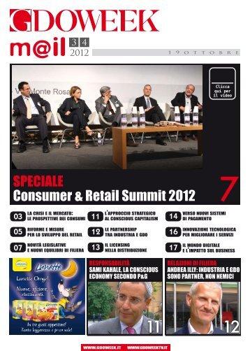 SPECIALE Consumer & Retail Summit 2012 - B2B24 - Il Sole 24 Ore