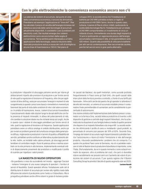 IL TERMOELETTRICO LANCIA L'ALLARME - B2B24 - Il Sole 24 Ore
