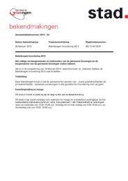 Beleidsregel invordering 2013 - Gemeente Groningen