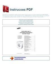 Manual do usuário SAMSUNG P853 - INSTRUCOES PDF
