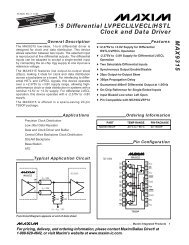 MAX9389EHJ+ Clock Drivers /& Distribution MAX9389EHJ Pack of 1