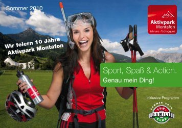 Sport, Spaß & Action.