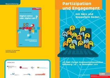 Partizipation und Engagement