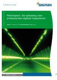 FlexInspect: De oplossing voor professioneel digitaal inspecteren
