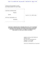 UNITED STATES DISTRICT COURT SOUTHERN ... - Letters Blogatory