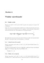 Vlakke meetkunde