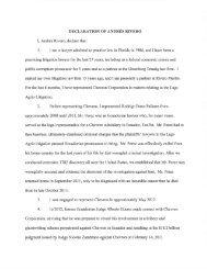 DECLARATION OT ANDRÉS RTVERO Agrio ... - Letters Blogatory