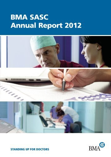 BMA SASC Annual Report 2012