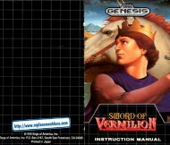 Sega Genesis - Sword of Vermilion - Mike's RPG Center