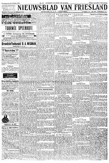 Nieuwsblad van Friesland : Hepkema's courant