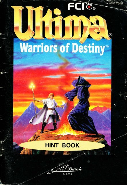 Ultima Warriors of Destiny - Mike's RPG Center