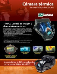 Thermal Imaging Fire and Rescue Face Protection Cámara ... - Bullard