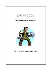 EVT 4000e servicemanual - Scootergrisen
