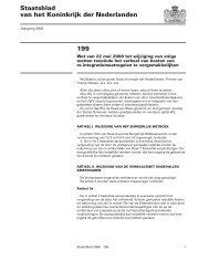 199 Staatsblad van het Koninkrijk der Nederlanden