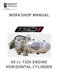 Peugeot workshop manual 50 cc TSDI engine ... - Scootergrisen