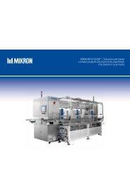 Mikron EcoLinE™ - Soluzioni per basse e medie produttività di ...