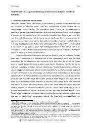 Friedrich Nietzsche Afgodenschemering Een studie ... - Bloggen.be