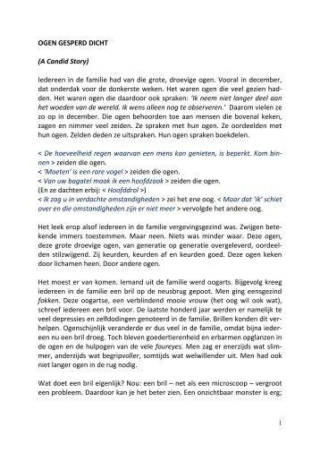 OGEN GESPERD DICHT - SeniorenNet