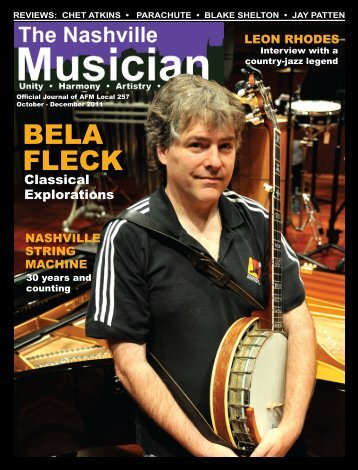 BELA FLECK - Nashville Musicians Association