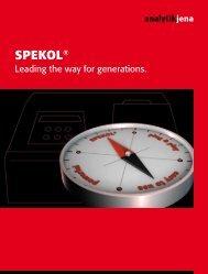 SPEKOL® - Analytik Jena AG