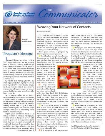 February - World Wide Web Communications