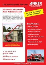 Telefon 04131 - Anker - Kran- und Arbeitsbühnenvermietung Gmbh