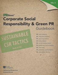 Put Sustainability to Work As an IR Differentiator - APCO Worldwide