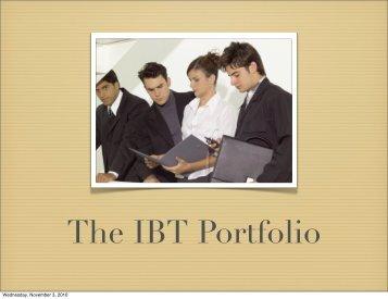 Grade 9 IBT Retreat – Portfolio Information - North Park Secondary ...