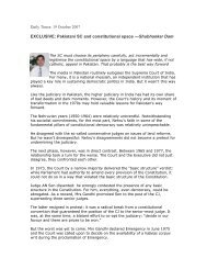 Daily Times: 19 October 2007 - Singapore Management University