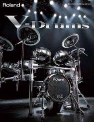 V-Drums Catalog 2009 vol.2 - Musicworld.bg