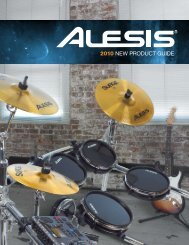 2010 e-percussion catalog 2010 new product guide - Musicworld.bg
