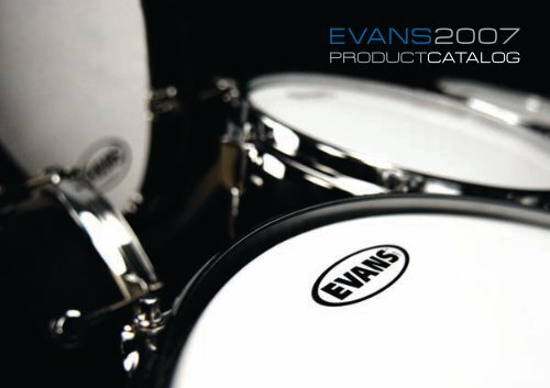"Evans EMAD2 Clear Bass Drum Head 20"" Externally Mounted Adjustable Damping to"