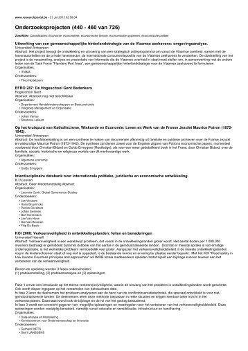 Onderzoeksprojecten (440 - 460 van 726)
