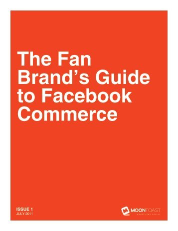 The Fan Brand's Guide to Facebook Commerce - Amazon Web ...