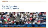 The Six Essentials of Social Commerce