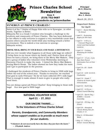 April 2013 - Grand Erie District School Board