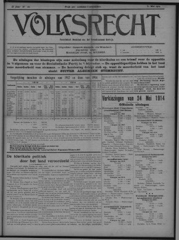 Verkiezingen van 24 Mei 1914
