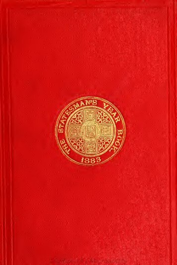 The Statesman's year-book; statistical and historical annual of the ...