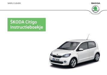 ŠKODA Citigo Instructieboekje - Media Portal - Škoda Auto
