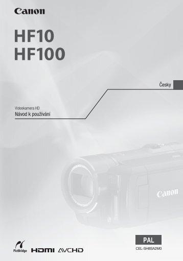 Česky Návod k používání - Canon Europe
