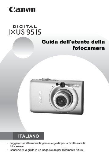 Guida dell'utente della fotocamera - Canon Europe