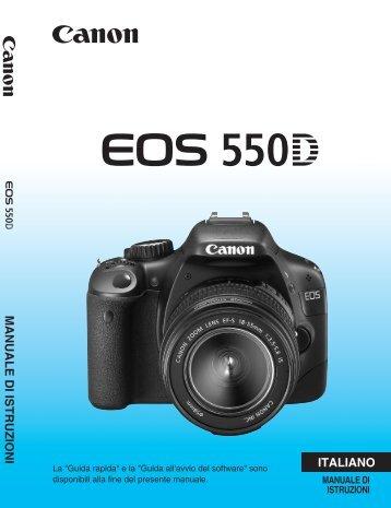 MANUALE DI ISTRUZIONI ITALIANO - Canon Europe