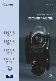 Instruction Manual - Canon Europe