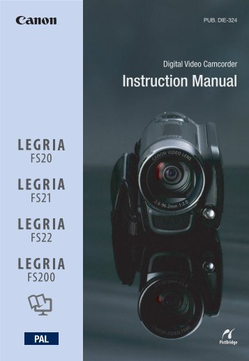 Instruction Manual - Canon Europe