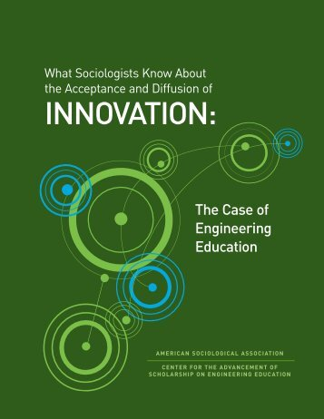 What Sociologists Know About the Acceptance and Diffusion