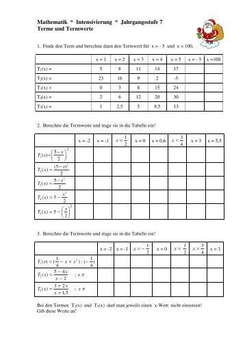 Niedlich Math Ungleichheiten Einer Tabelle 7Klasse Fotos - Mathe ...