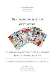 det danske marked for gratisaviser - Newspaper Innovation