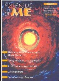 3. Ausgabe -November 2000 - Stiftung Maria Ebene